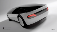 Apple Car Concept Back