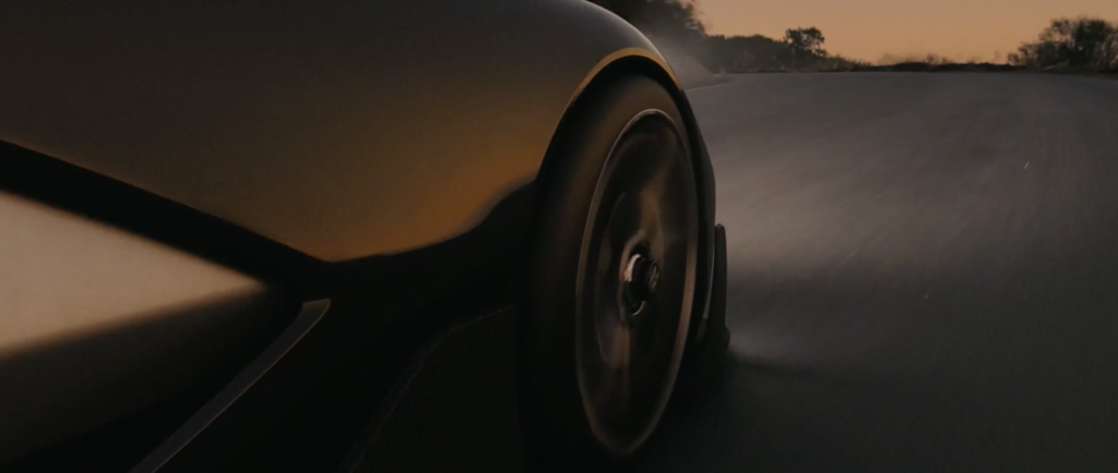 Detail Elektroauto von Faraday Future Teaser Video