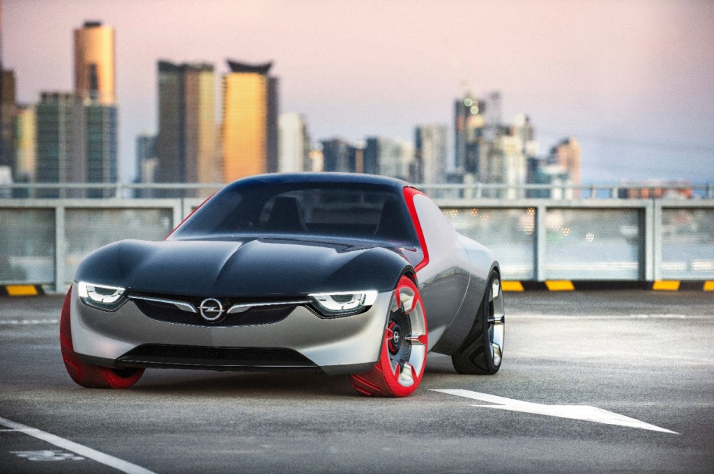 Opel GT Concept mit 145PS