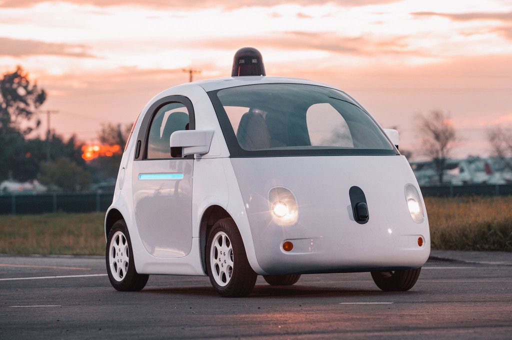 Elektroauto Google Self Driving Car